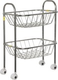 SHREE SINGHAL Two shelves Stainless Stee...