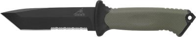 Gerber Prodigy, Tanto, Serrated Edge, Camo Nylon Sheath Fixed Blade Fixed Blade Knife