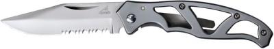 Gerber Paraframe Mini - Stainless, Serrated Folding Clip Knife