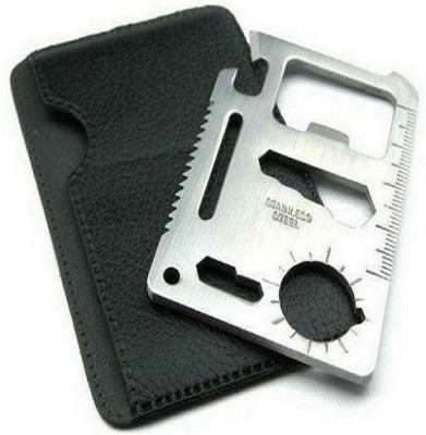 Protos 11 In 1 Pocket Visiting Card Survival Kit Multi Tool