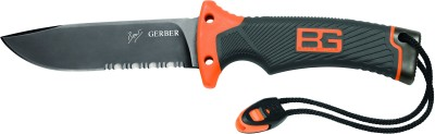 Gerber Bear Grylls Ultimate Dp Serrated Fixed Blade Knife