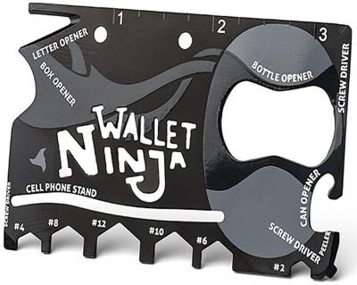 Shopper52 18 In 1 Ninja Wallet - NIZTOL Multi Tool