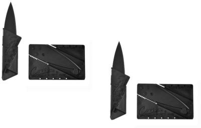 i-gadgets Set Of 2 Folding Slim Portable Pocket Knife
