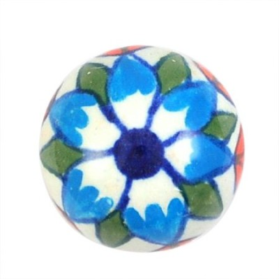 Karmakara Ceramic Door Knob