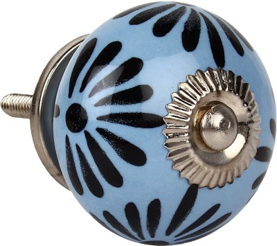 The Decor Mart Multicolour Knob Ceramic Cabinet/Draw Knob