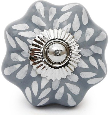 Perfectcreat Ceramic Door Knob(Grey Pack of 4)