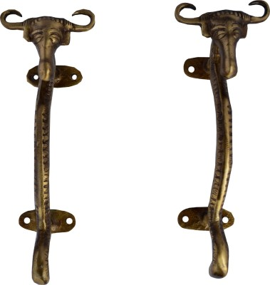 Aakrati Funky Styled Bull Face Unique Brass Door Pull