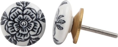 IndianShelf Knobs Ceramic Cabinet/Draw Knob