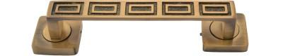 Klaxon Brass Door Pull(Brown Pack of 1)