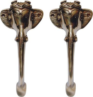 Aakrati Aakrati- Ganesha Handle Made Brass Door Pull