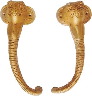 Aakrati Designer Handle of Ganesha Face Brass Door Pull