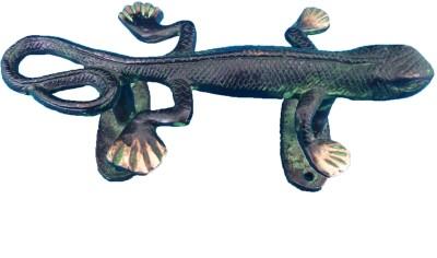 Aakrati Antique Handle of lizard Figure Brass Door Pull