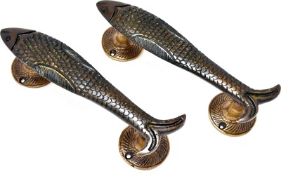 Handecor Fish Design Brass Door Pull