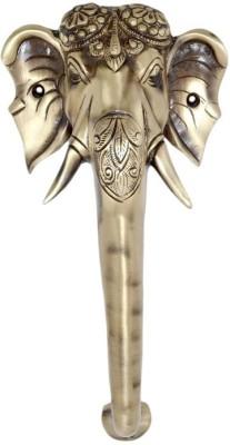 Aakrati Elephant Face Designer Handle Brass Door Pull