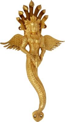 Aakrati Specially Designed As Nagkanya Brass Door Pull