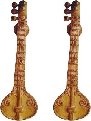 Aakrati Handicraft Handle of Sitar Brass Door Pull