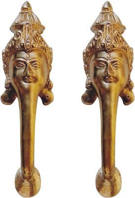 Aakrati Goddess Face Handle Brass Door Pull