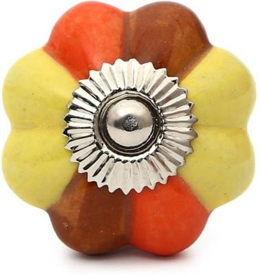 Perfectcreat Ceramic Door Knob(Multicolor Pack of 4)