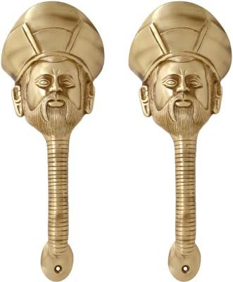 Aakrati Sailor Face Handle Pair Brass Door Pull