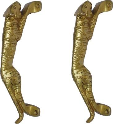 Aakrati Handle of Panther Brass Door Pull