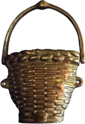 Art Antiqua Basket Shape Door knocker Brass Door Pull