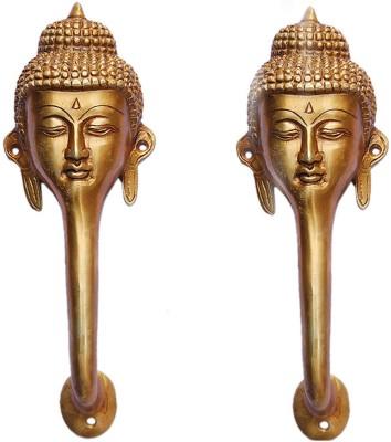 Aakrati Brass Handle of Gautam Buddha Brass Door Pull