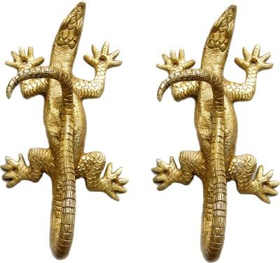 Aakrati Brass Handle of Lizard Brass Door Pull