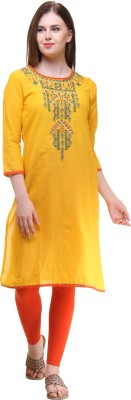 Gulmohar Jaipur Embroidered Women's Straight Kurta