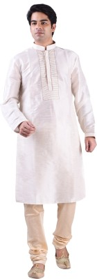 Shaan Self Design Men's Straight Kurta