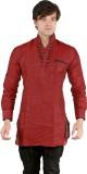 New Looks Solid Men's Pathani Kurta (Mar...