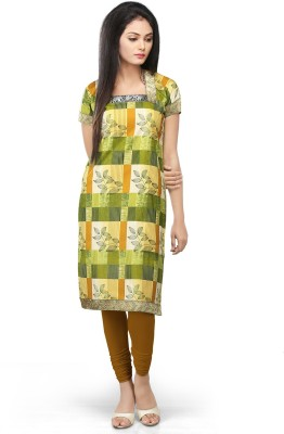 Devi Handlooms Geometric Print Women's Straight Kurta