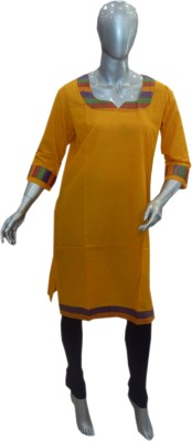 OLIVIAS fashion Solid Women's Straight Kurta
