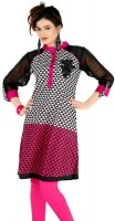 Sruti Geometric Print Women's Straight Kurta(Multicolor)