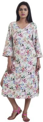 ZUZIZ Floral Print Women's A-line Kurta