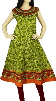 Kaya Printed Women's Anarkali Kurta