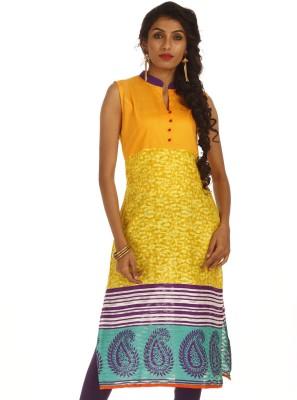 Amithi Printed Women,s Straight Kurta