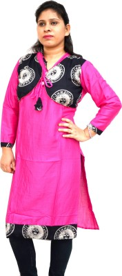 Aarti Collections Printed Women's A-line Kurta