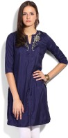 Aurelia Solid Women's Straight Kurta