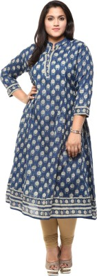 Love More Printed Women's Anarkali Kurta