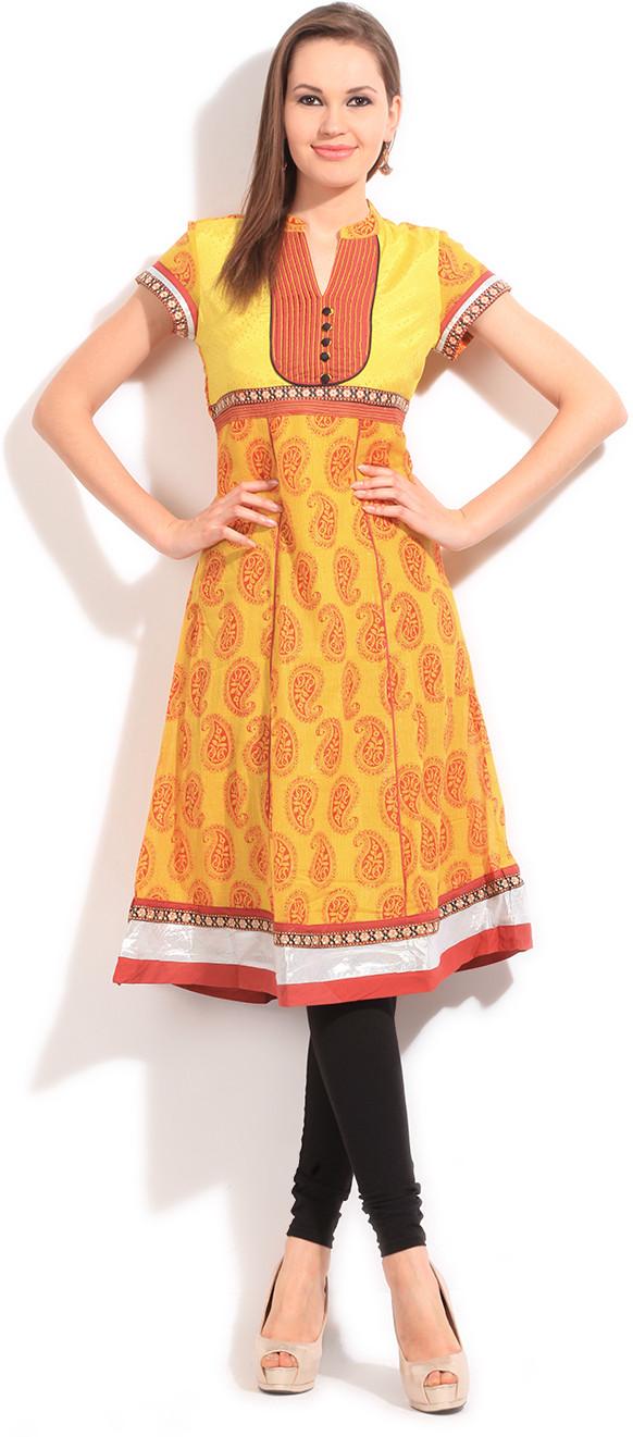 Ishwar Womens Wear Printed Womens Kurta((AnarkaliKurtas))