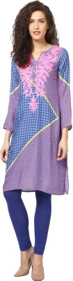 Love From India Geometric Print Women's A-line Kurta