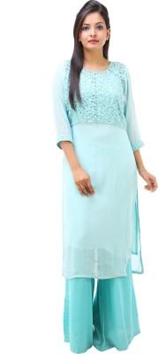 Inblue Fashions Self Design Women,s A-line Kurta