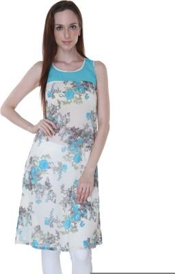 Rigoglioso Floral Print Women,s A-line Kurta