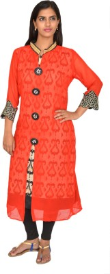 Selectives Printed Women's Anarkali Kurta