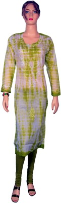 Kurti Bazaar Self Design Women's Straight Kurta
