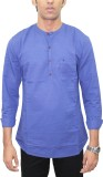 Southbay Solid Men's Straight Kurta (Dar...