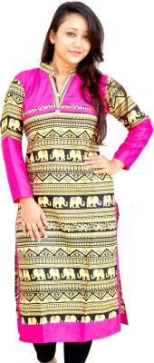 Aarti Collections Printed Women's Straight Kurta