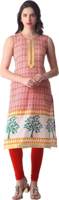 Libas Printed Women's A-line Kurta(Multicolor) at flipkart