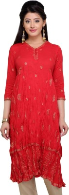Stop To Start by Shoppers Stop Self Design Women,s Anarkali Kurta