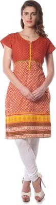 Vedic Self Design Women,s Straight Kurta